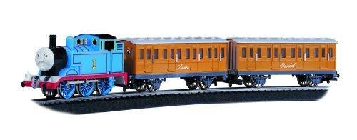 Bachmann Trains Thomas with Annie and Clarabel Ready-to-Run HO Scale Train Set by Bachmann Trains