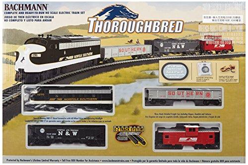 Bachmann Trains Thoroughbred Ready-to-Run HO Scale Train Set