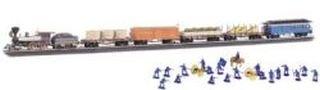 Civil War Union Steam Engine Ho Scale Train Set