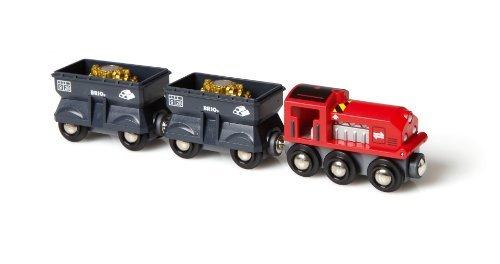 BRIO BRI-33278 Freight Gold Train by Brio