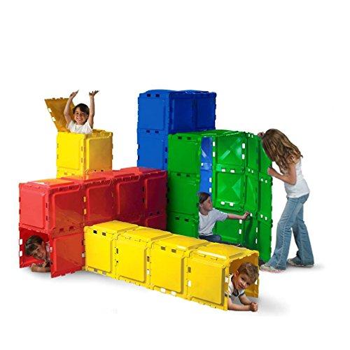 Brik-A-Blok 60 Panel Tunnel Set Children Play Tunnel