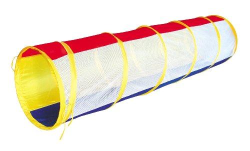 Rainbow Play Tunnel 6-feet Pop-up Toy Tent Child Kids Mesh Tube