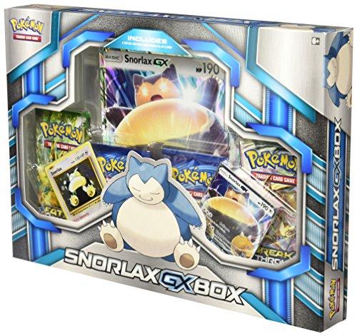 TCG Snorlax GX Box Card Game