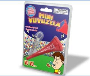 Mini Vuvuzela Keychain Novelty Noisemaker Toy
