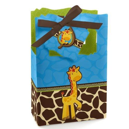 Giraffe Boy - Party Favor Boxes - Set of 12