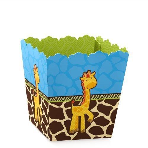 Giraffe Boy - Party Favor Candy Boxes set of 12