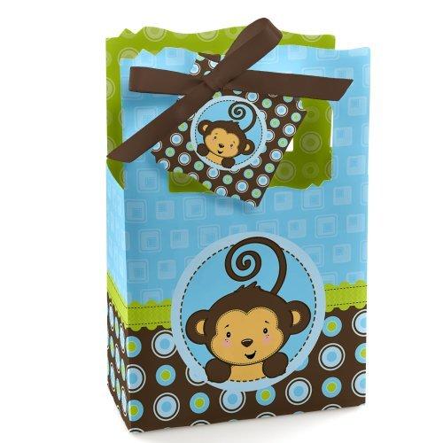 Monkey Boy - Party Favor Boxes - Set of 12