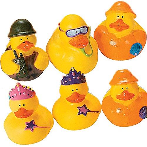 20 Assorted Unique Mini Rubber DucksDuckiesHolidaysSportsParty Favors