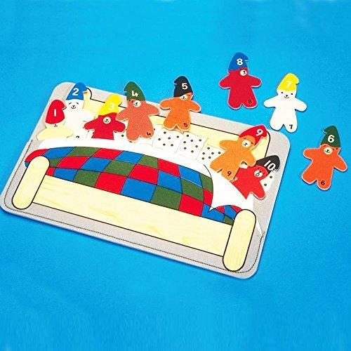 Kids Ten Teds In Bed Number Game