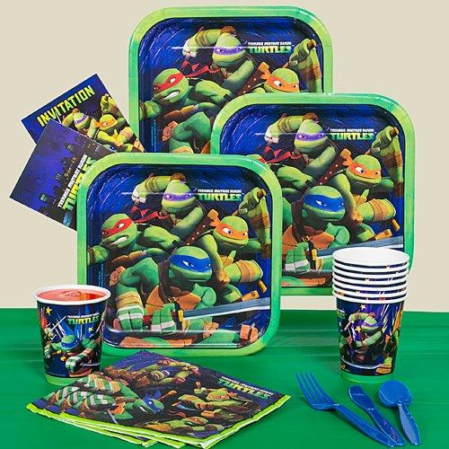 Teenage Mutant Ninja Turtles - Party Pack - Boys Birthday Party Supplies
