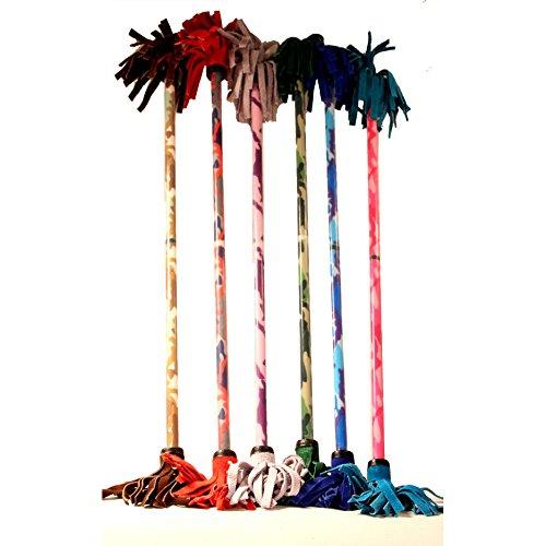 Z-Stix Flower Juggling Stick- Devil Stick- Camouflage Series- Choose The Perfect Size Blue Kids