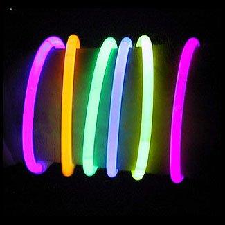 300 8 Lumistick Brand Glow Light Stick Bracelets WHOLESALE PACK