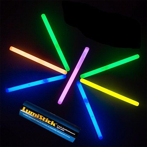 Lumistick Glow Stick Light Sticks Mixed Colors Tube of 25
