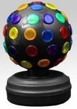 4 Black Disco Ball Light - Novelty Lighting by DRW