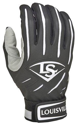 Louisville Slugger Youth BG Series 5 Batting Glove Black Large Size Large Color Black Model BGS514-YBKLGP Toys Play