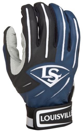 Louisville Slugger Youth BG Series 5 Batting Glove Navy Medium Size Medium Color Navy Model BGS514-YNVMDP Toys Play