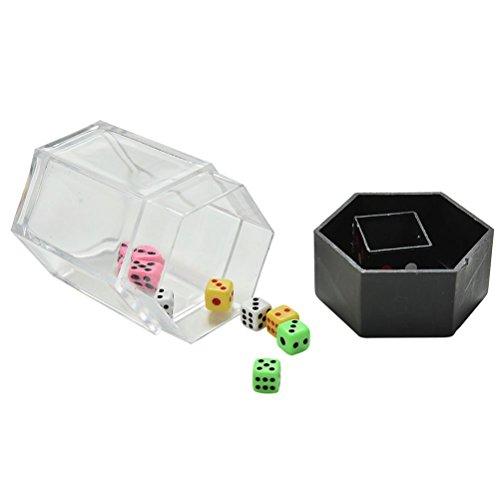 Crqes 1 Set Explosion Dice Mini Colorful Bomb Dice Change Size Kids Magic Trick Toys