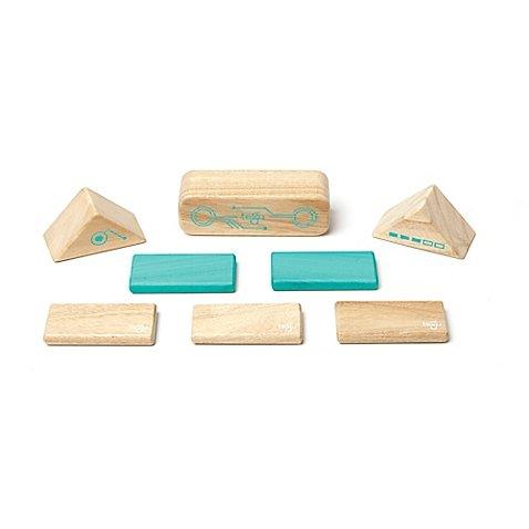 Tegu Robo 8-Piece Magnetic Wood Block Set
