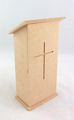 Dollshouse Workshop Dolls House Miniature 112 Scale Furniture Kit Church Pulpit Chapel Lectern