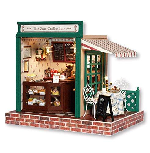 DIY Miniature Dollhouse Kit with Furniture Handmade Dolls House Miniature Kit Plus Music Movement and LED Lights124 Scale Creative Room Idea