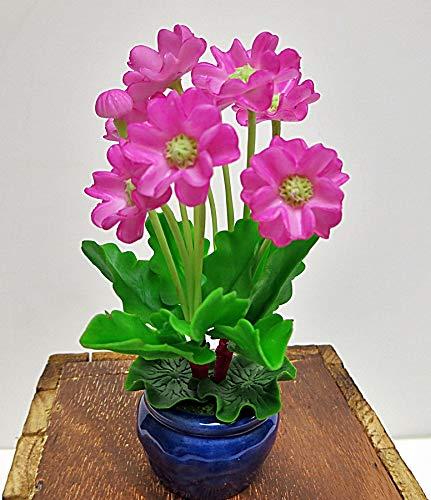 Handmade Dollhouse Artificial Miniature Polymer Clay Flower