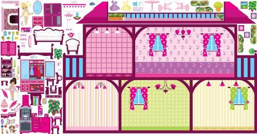 Mona Melisa Designs Interactive Wall Play Set Dollhouse