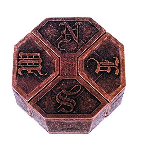 NEWS Hanayama Cast Metal Brain Teaser Puzzle Level 6