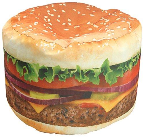 Wow Works Hamburger Adult Beanbag Chair 86776A