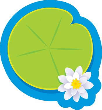 Trend Enterprises Inc Classic Accents Mini Lily Pad One Design