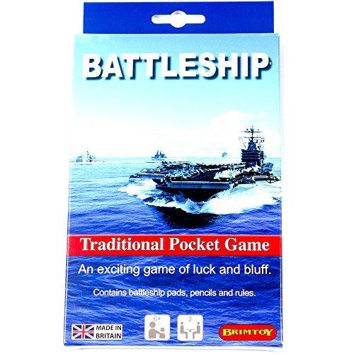 Battleship game - travel version by Brimtoy