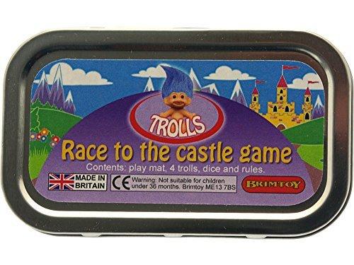 Trolls pocket  travel childrens game by Brimtoy