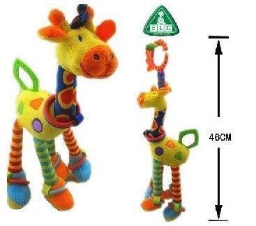 Melissa  Doug Giraffe Plush baby hand puppets BB BTB03