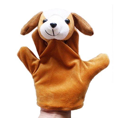 LandFox ToyAnimal Hand Glove Puppet Finger Sack Plush ToyDog