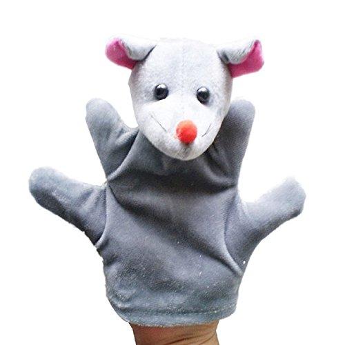 LandFox ToyAnimal Hand Glove Puppet Finger Sack Plush ToyMouse