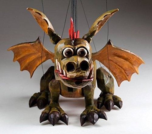 Dragon Spike Czech Marionette Puppet