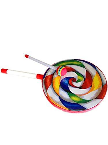 Kids Percussion Lollipop Drum 8 Diameter