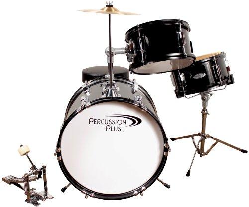 Percussion Pluss PPJR3BK 3-Piece Drum Set