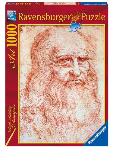Ravensburger Puzzle 1000 pieces - Self-portrait Leonardo code 19007