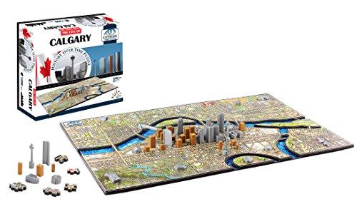 4D Cityscape 4D Calgary Canada Puzzle