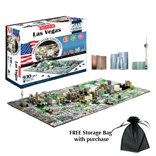 4D Cityscape Las Vegas Puzzle