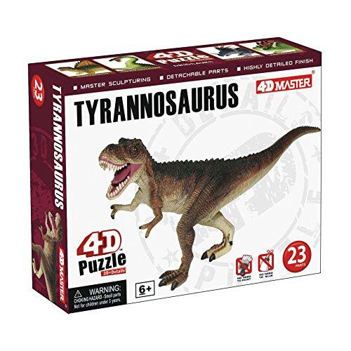 4D Puzzle - Tyrannosaurus