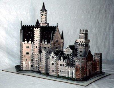 Bavarian Castle 1000 Piece 3D Jigsaw Puzzle Made by Wrebbit Puzz-3D