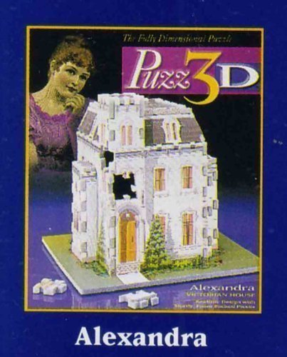 Puzz-3d Puzzle Alexandra Victorian House by Wrebbit