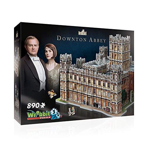 WREBBIT 3D - Downton Abbey 3D Jigsaw Puzzle - 890Piece BrownA