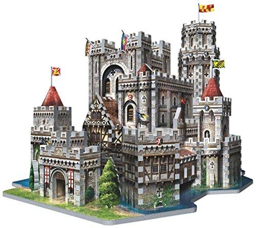 Wrebbit 3D King Arthurs Camelot 3D Puzzle 865-Piece