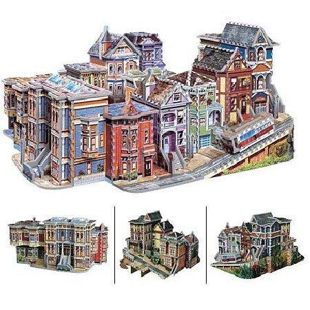 Wrebbit  Puzz3D 3D San Francisco USA 1512 Piece Puzzle