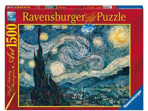 Ravensburger - 1500 Pieces Jigsaw Puzzle - Van Gogh  Starry Night