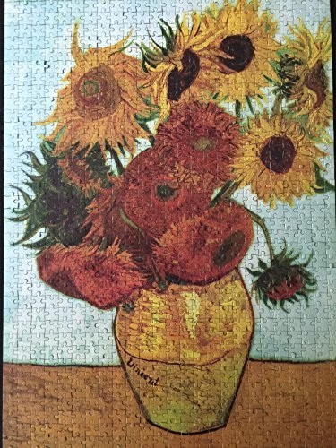 Van Gogh Vase with Twelve Sunflowers Puzzle 1000 Piece Jigsaw