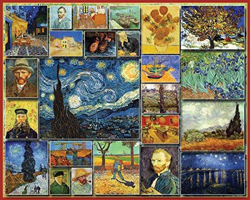 White Mountain Puzzles Great Painters Collection - Vincent Van Gogh - 1000 Piece Jigsaw Puzzle