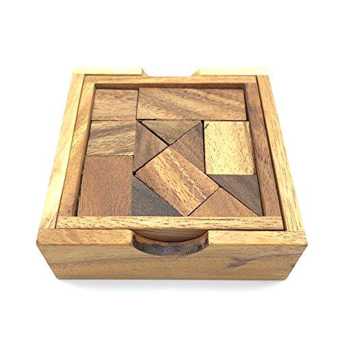 BRAIN GAMES Surprise Box Wooden Puzzle